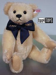 Steiff 038792 A MILLION HUGS MOHAIR TEDDY BEAR OFF WHITE