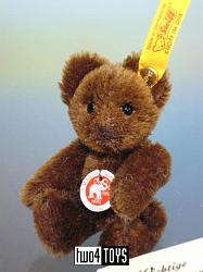 Steiff 039393 CHOCOLATE BROWN MOHAIR MINI TEDDY BEAR 2008