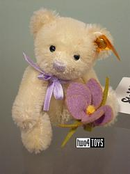 Steiff 040191 MINI TEDDY BEAR CROCUS