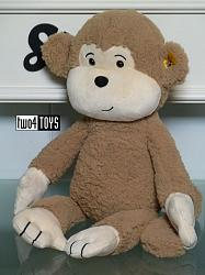 2018 Steiff 060328 SOFT CUDDLY FRIENDS BROWNIE MONKEY LARGE