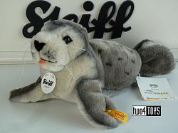 2021 Steiff 063688 NATIONAL GEOGRAPHIC SHEILA BABY SEAL 2019