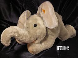 Steiff 064364 TRAMPILI ELEPHANT LARGE CUDDLY SOFT PLUSH