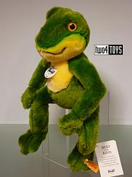 Steiff 064586 FROGGY THE DANGLING FROG SOFT PLUSH