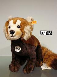 Steiff 066108 BENDY RED PANDA CUDDLY SOFT PLUSH 2016