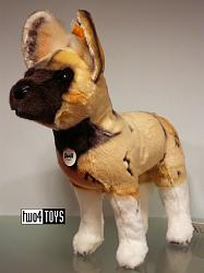 2017 Fall Steiff 066122 ABOKI AFRICAN WILD DOG SOFT PLUSH