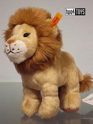 Steiff 066658 LEO LION CUDDLY SOFT PLUSH
