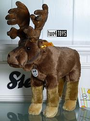 2018 Fall Steiff 069178 EDVIN ELK CUDDLY SOFT PLUSH