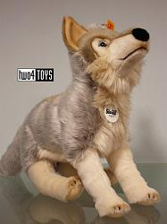 Steiff 069246 SNORRY WOLF CUDDLY SOFT PLUSH