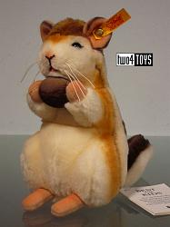 Steiff 070945 KECKI CHIPMUNK CUDDLY SOFT FUR