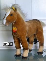 Steiff 072772 FELLOW HANOVERIAN HORSE BROWN PLUSH 2003