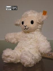 2017 Fall Steiff 073403 SOFT CUDDLY FRIENDS FUZZY LAMB SMALL