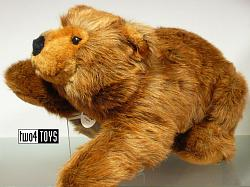 Steiff 075698 HUGE URS BROWN BEAR SOFT PLUSH