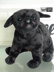 2018 Fall Steiff 077005 PERRY BLACK PUG DOG