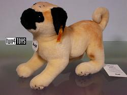 Steiff 077012 MOPSY PUG DOG CUDDLY SOFT PLUSH 2013
