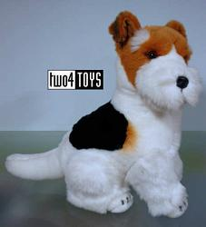 Steiff 079559 TREFF FOX TERRIER DOG PLUSH 2002