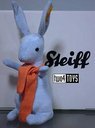 Steiff 080593 CRAZY RABBIT BLUE