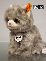 Steiff 084010 MINKA KITTEN CAT CUDDLY SOFT PLUSH
