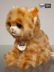 Steiff 084027 LIZZY KITTEN CAT CUDDLY SOFT PLUSH