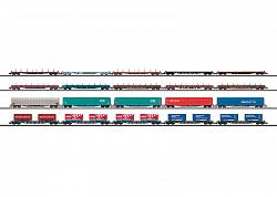 Minitrix 15277 FREIGHT CAR FOR ALPINE TRANSIT 2009