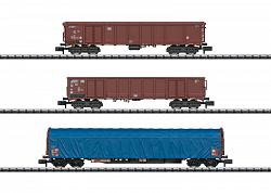 2019 Minitrix 15869 DB GERMAN FEDERAL RR FREIGHT CAR SET
