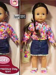 2020 Gotz 1590382 ELISABETH PRECIOUS DAY GIRLS PLAY DOLL