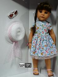 2020 Gotz 1659082 HANNAH SUMMERTIME PLAY DOLL 2016