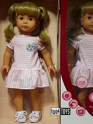 2020 Gotz 1690398 JESSICA SUMMER TIME PRECIOUS DAY GIRLS DOLL