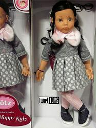 2019 Gotz 1766043 HAPPY KIDZ LUISA PLAY DOLL