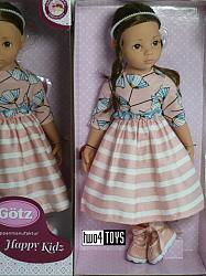 2020 Gotz 2066066 HAPPY KIDZ SOPHIE LARGE STANDING DOLL