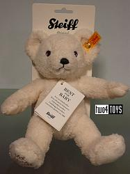 Steiff 240935 MY FIRST STEIFF TEDDY BEAR CREME CUDDLY SOFT