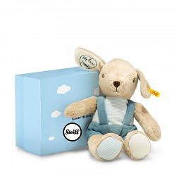 Steiff 241024 MY FIRST STEIFF DOG W. RUSTLING FOIL/GIFTBOX 2017