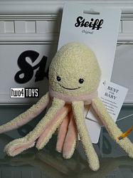 2018 Fall Steiff 241420 OTI OCTOPUS SEA SWEETIES SOFT PLUSH