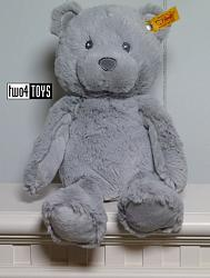 Steiff 241543 SOFT CUDDLY FRIENDS BEARZY TEDDY BEAR GRAY 2018