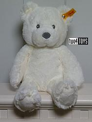 2018 Steiff 241550 SOFT CUDDLY FRIENDS BEARZY TEDDY BEAR WHITE
