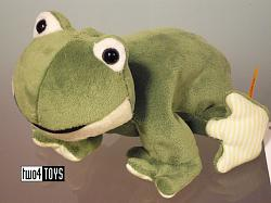Steiff 281235 CAPPY STEIFF'S LITTLE FLOPPY FROG SOFT PLUSH