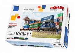 Marklin 29452 START-UP CONTAINER TRAIN STARTER SET 230 Volt