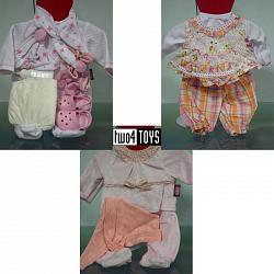 Gotz 3402243 BABY DOLLS 14-PIECE BENEFIT CLOTHING SET