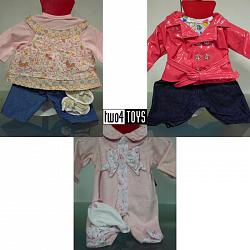 Gotz 3402244 BABY DOLLS 9-PIECE BENEFIT CLOTHING SET