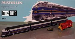 Marklin 37618 USA B&O CLASS F7 THREE UNIT DIESEL LOCOMOTIVE 2012