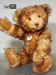 Steiff 407246 HAPPY REPLICA 1926 TEDDY BEAR GOLDEN BROWN 2003