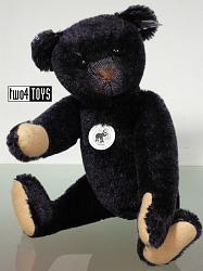 Steiff 408564 TEDDY BEAR 1908 BLACK MOHAIR