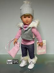 2014 Kathe Kruse 41469 SOPHIE MURIEL ICE SKATER Play Doll