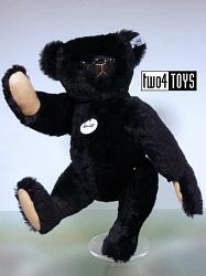 Steiff Club 420825 MOHAIR TEDDY BLACK 1907