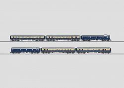 Marklin 42283 DRG RHEINGOLD EXPRESS TRAIN PASSENGER CAR SET 2011