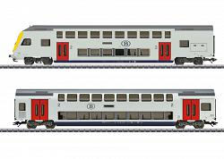 Marklin 43573 SNCB BELGIAN PASSENGER TRAIN EXTENSION SET 2018