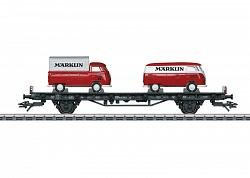 Marklin 45083 AUTO TRANSPORT CAR W. 2x VW T1 MARKLIN BUSSES 2017