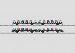 Marklin 45098 DB GOGGOMOBIL AUTO TRANSPORT CARS SET 2012