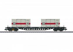Marklin 47048 DB Sgs 693 FLAT CAR FOR CONTAINERS