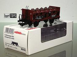 Marklin 48162 DB DEGUSSA ACID TRANSPORT CAR INSIDER CLUB 2012