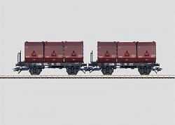 Marklin 48271 DB TYPE Okmn 38 SET WITH 2 COAL TUBS CARS 2005